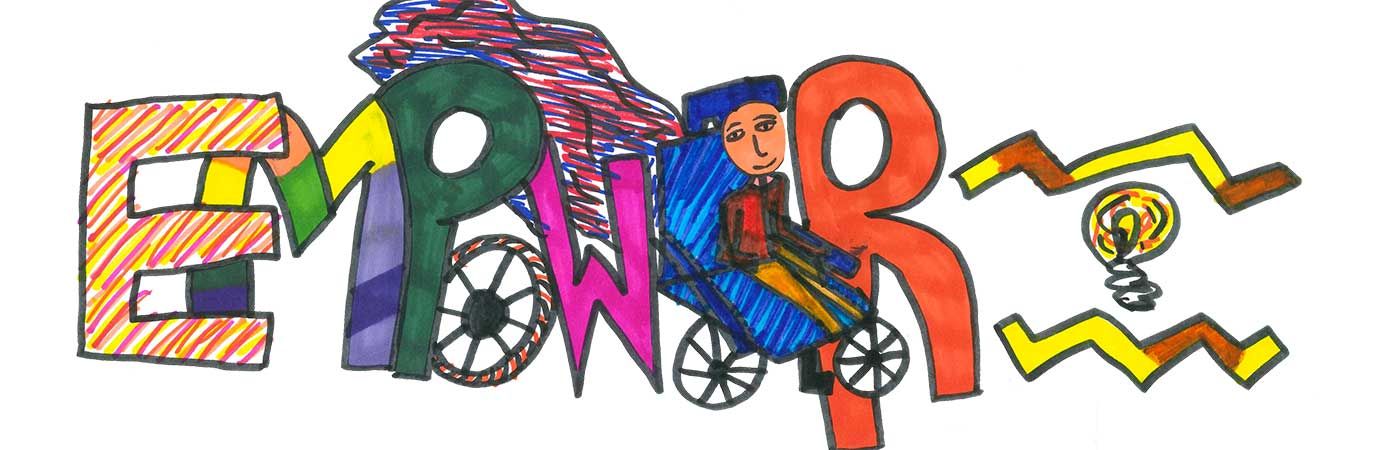 Empower logo designed by Ria
